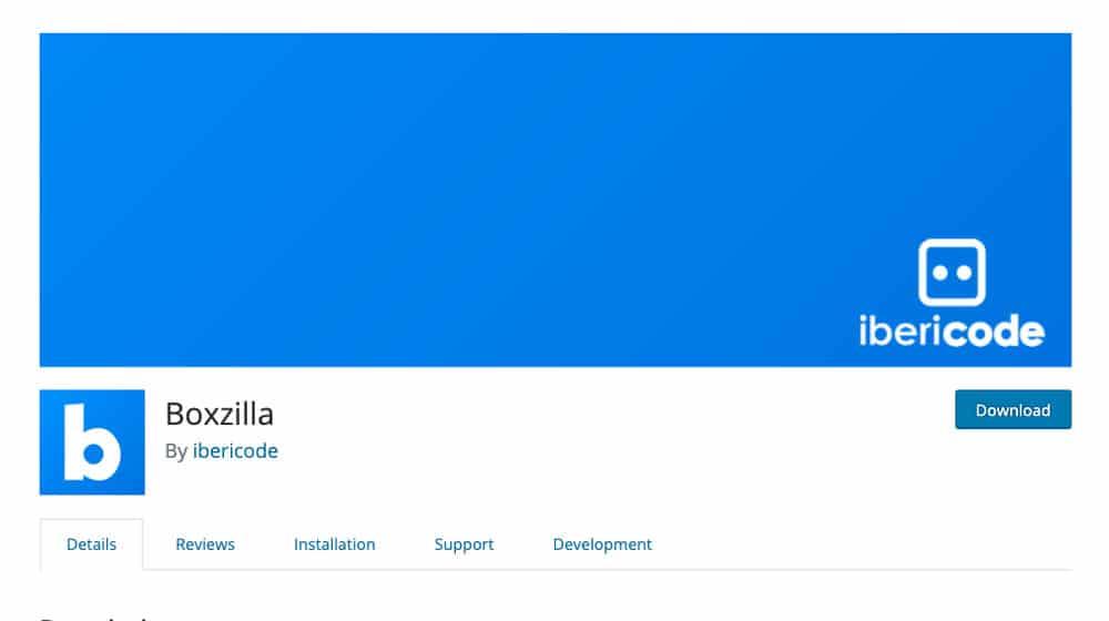 Boxzilla Homepage