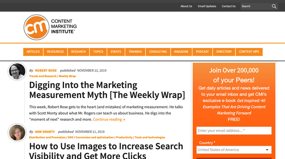 Example Good Blog Content