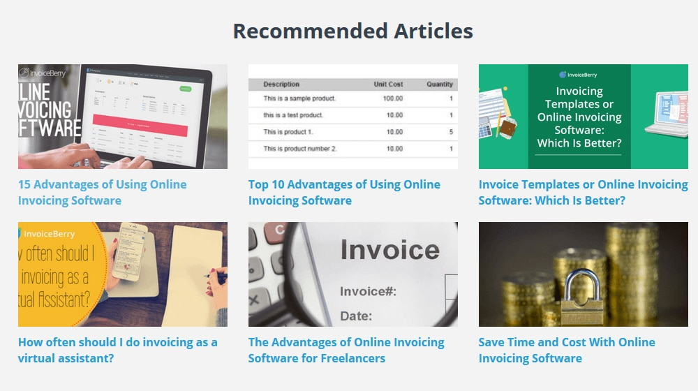 Recommended Articles Plugin