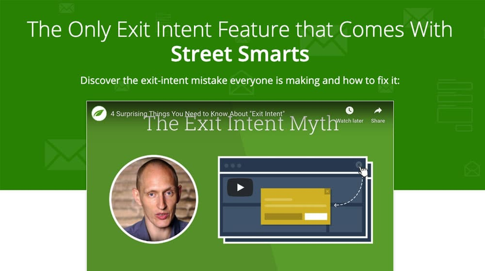 Thrive Exit Intent