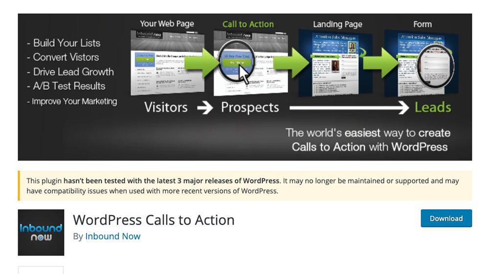 Wordpress CTA