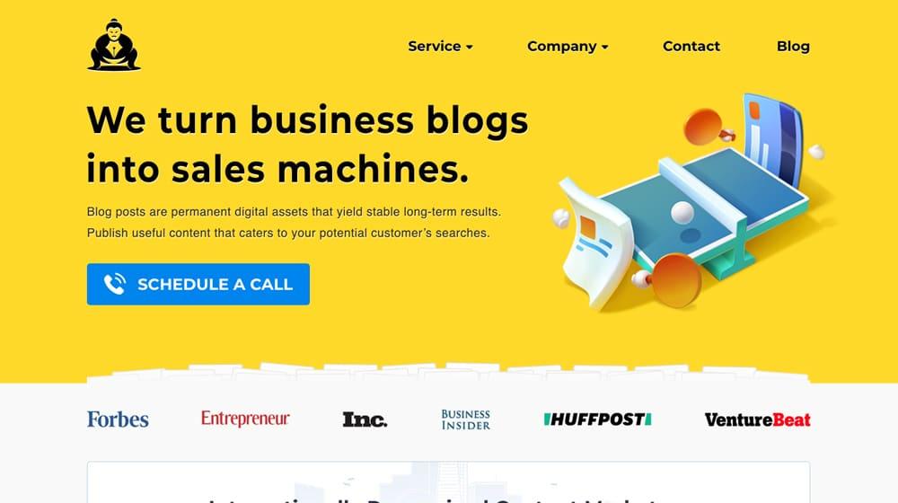 Blog Management Example