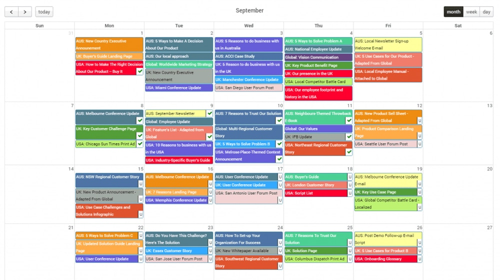 Content Strategy and Scheduling