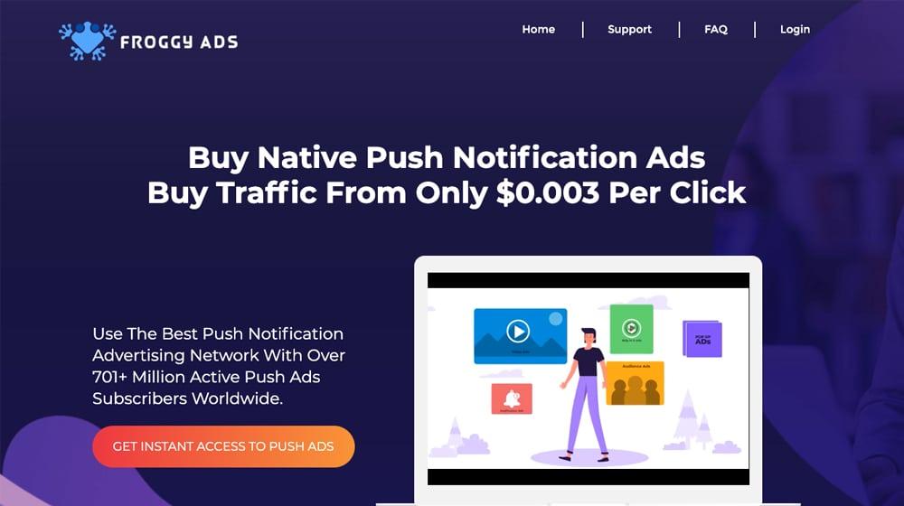 Example Push Ads
