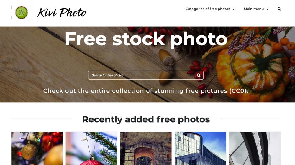 Kivi Photo Site