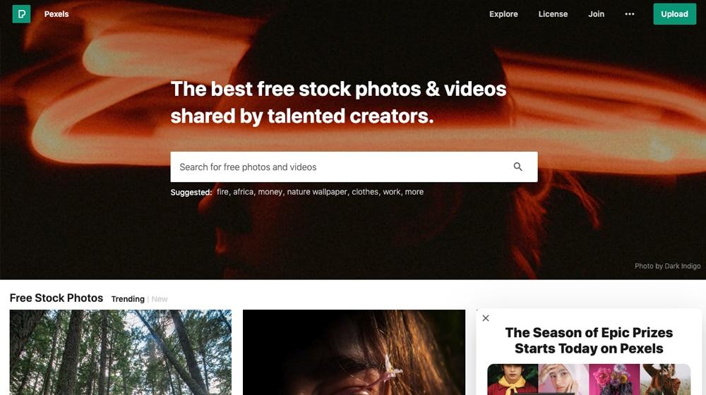 Pexels Site
