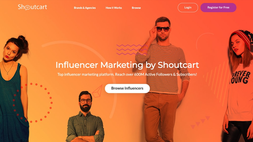 Shoutcart Homepage