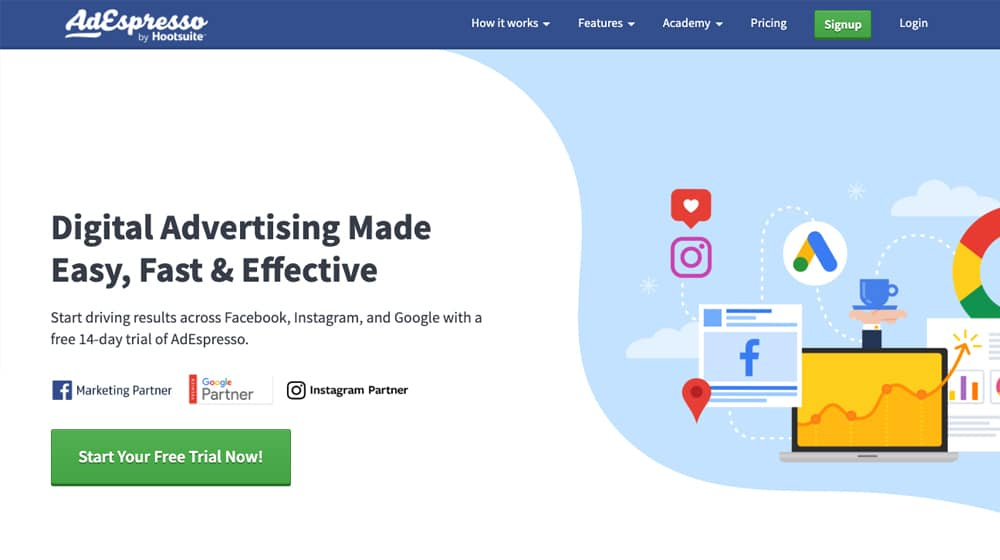 AdEspresso Advertising