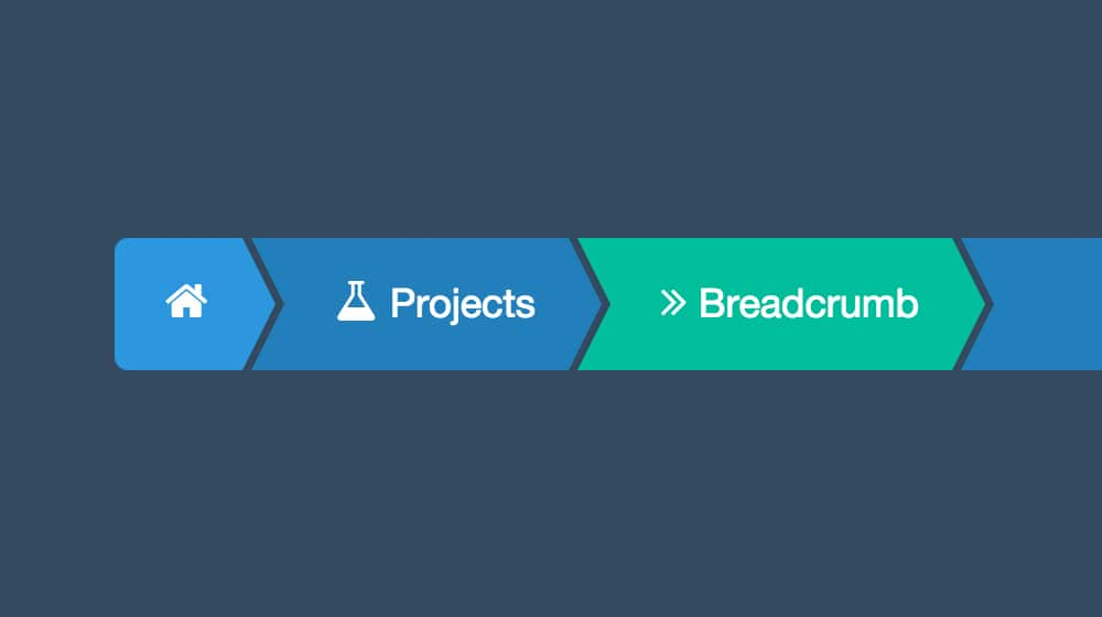 Complicated Breadcrumb Design