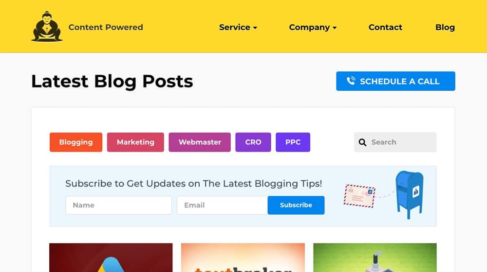 Example Blog