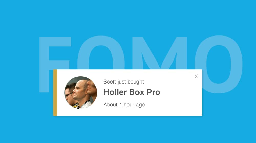 Fomo Call to Action Plugin