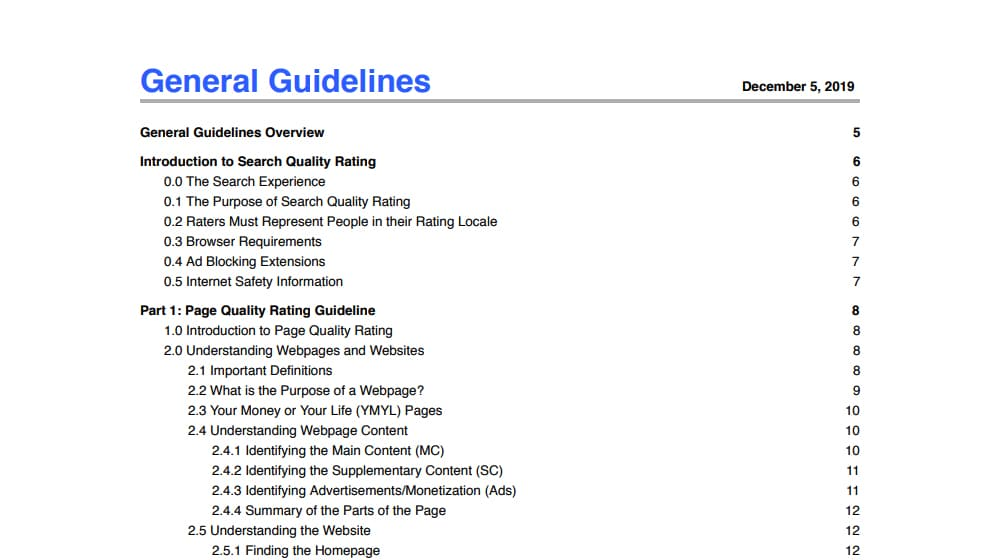 General Guidelines PDF