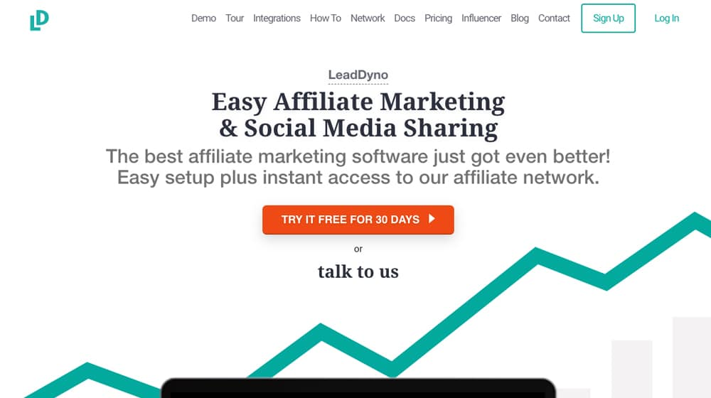 LeadDyno Homepage