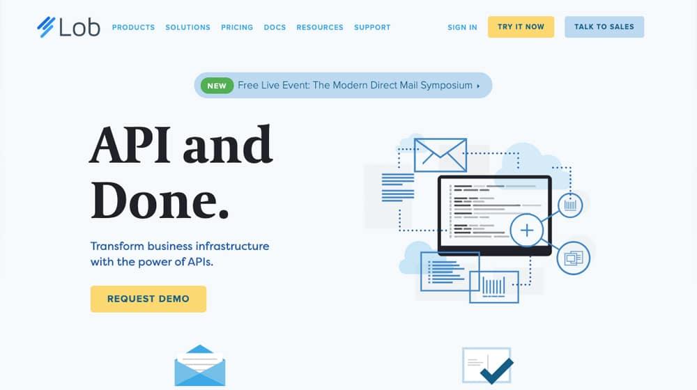 Lob Homepage