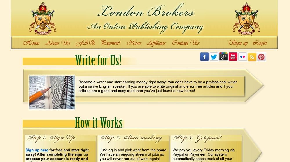 London Brokers