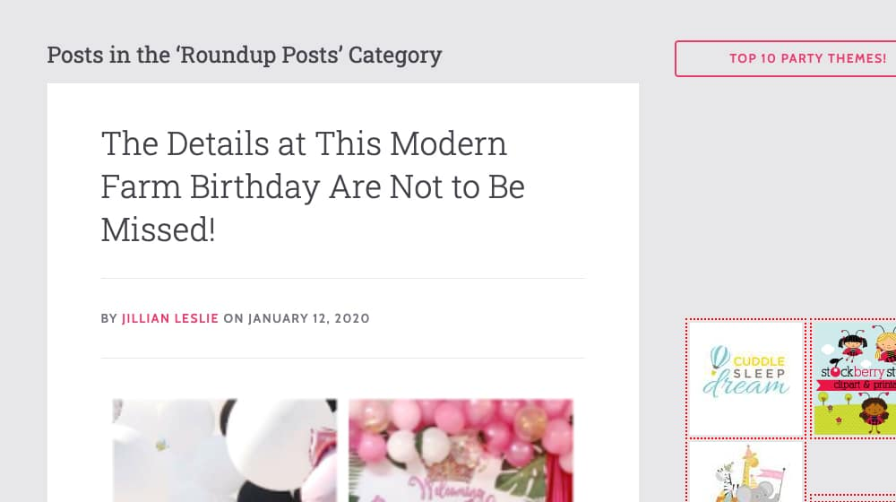 Roundup Posts Category