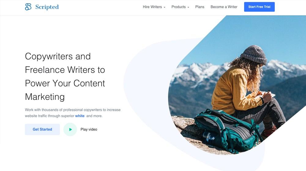 Scripted Homepage