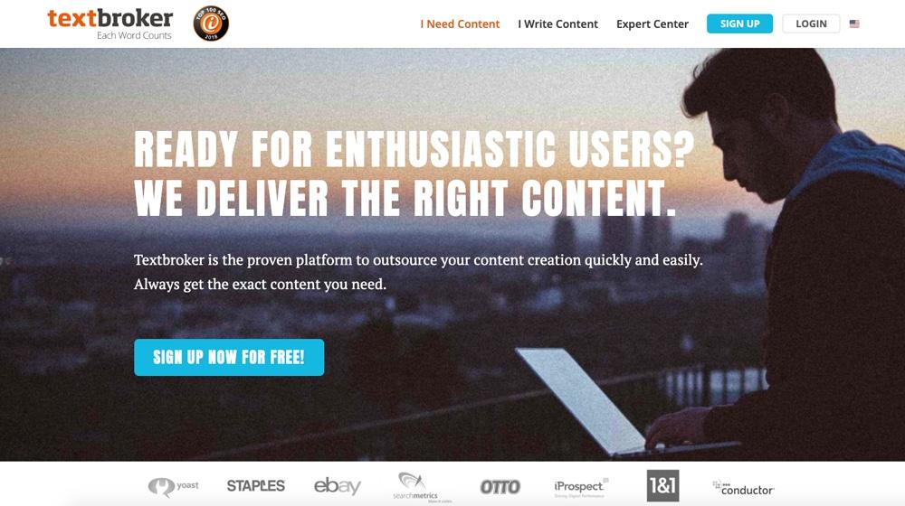 Textbroker Site