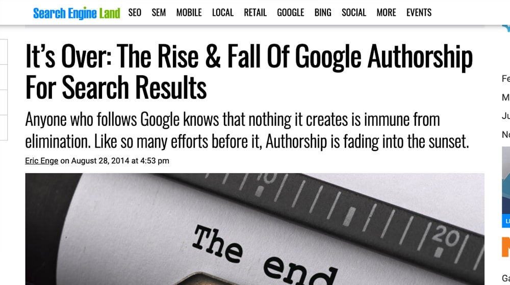 Authorship Is Dead