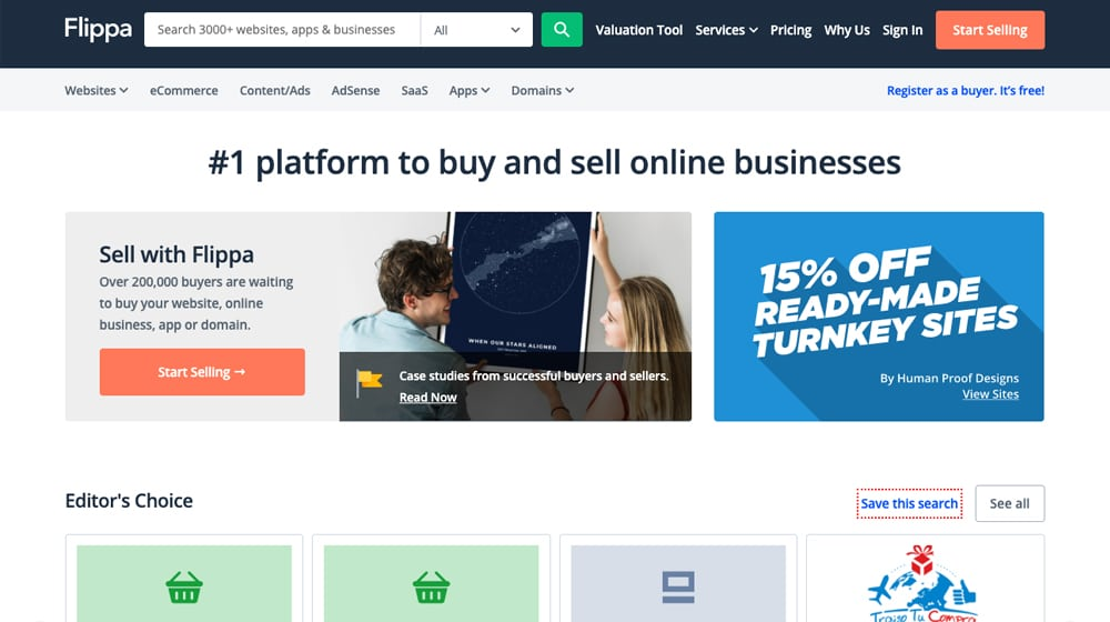 Buy Sell Online Businesses