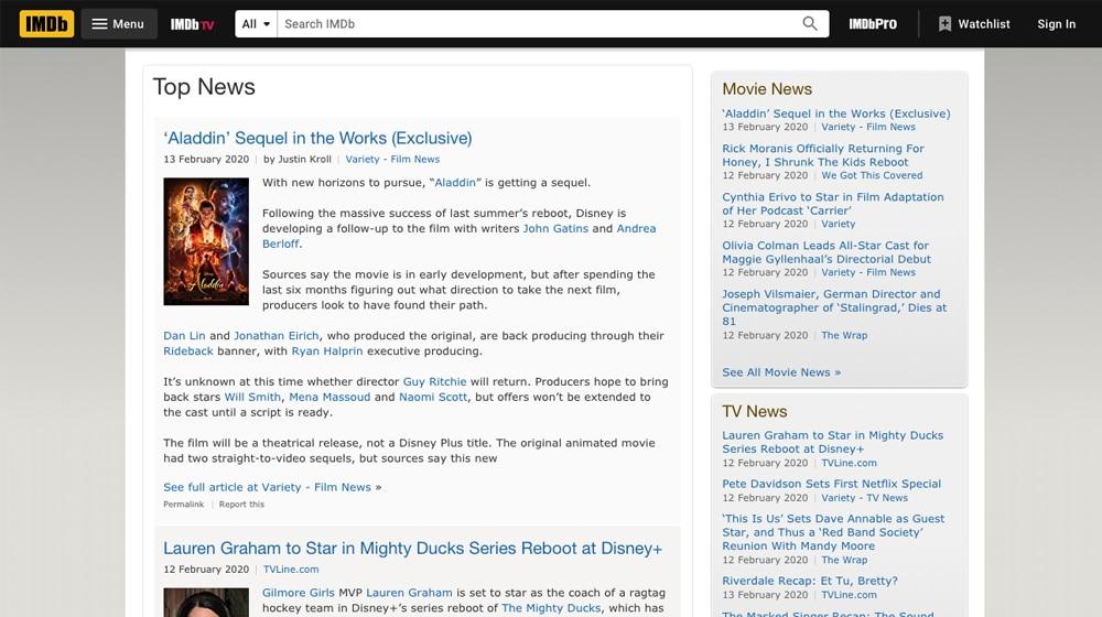 IMDB Blog
