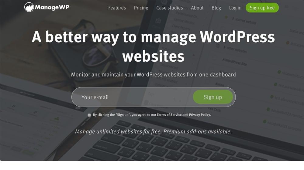 ManageWP Site