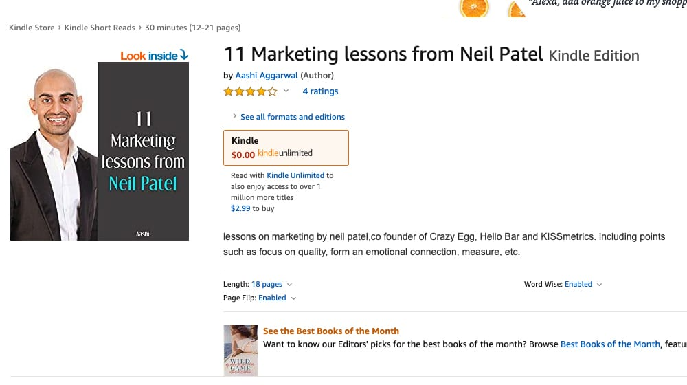 Neil Patel eBook