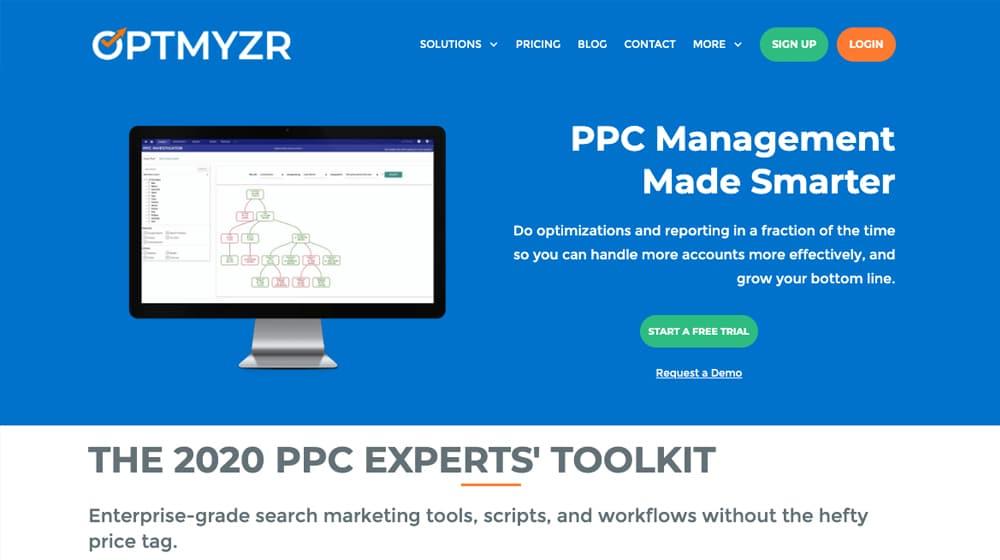 Optmyzer Homepage