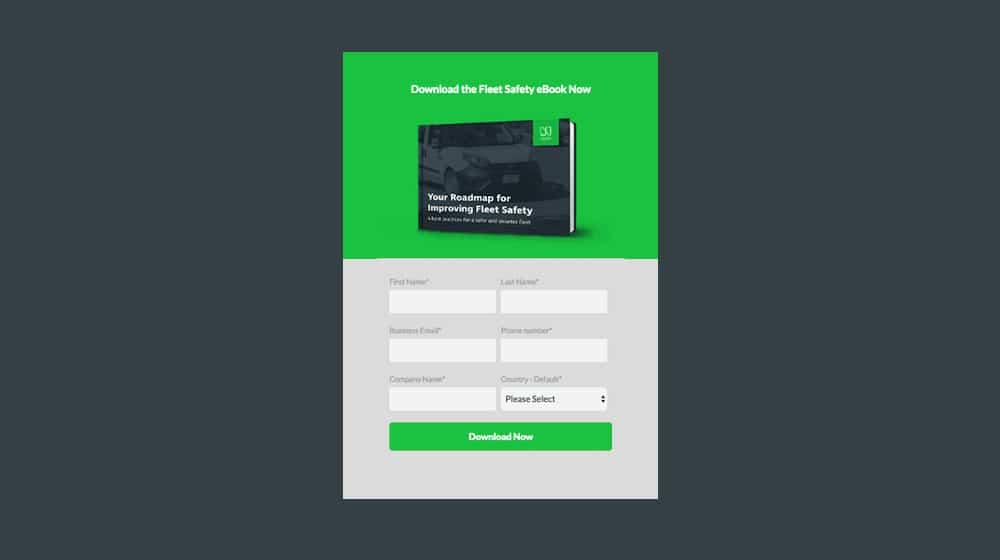 Popup for Ebook Download