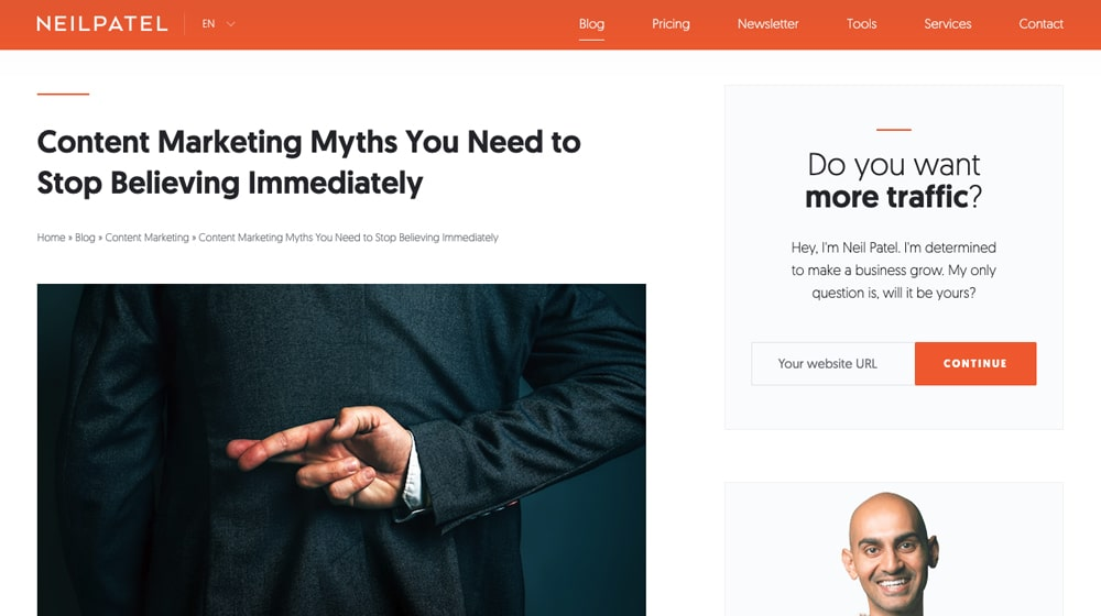 Contennt Marketing Myths