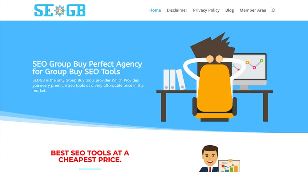Example SEOGroupBuy Site