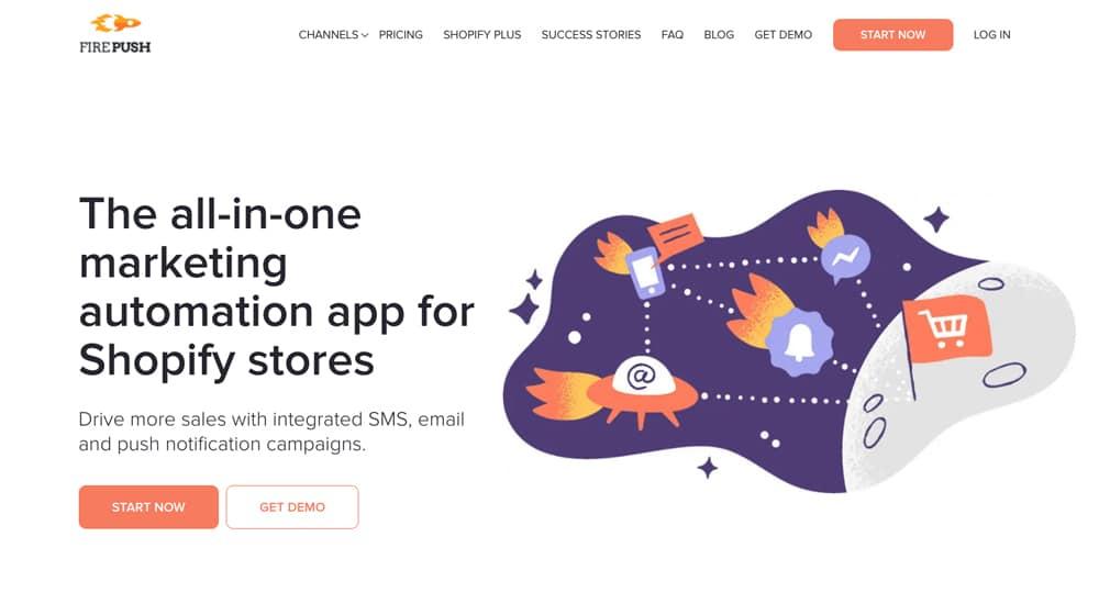 Firepush Homepage