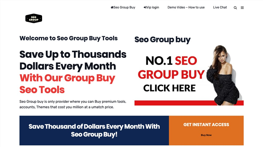 SEO Group Buy Example 2