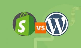 Shopify vs Wordpress Blog