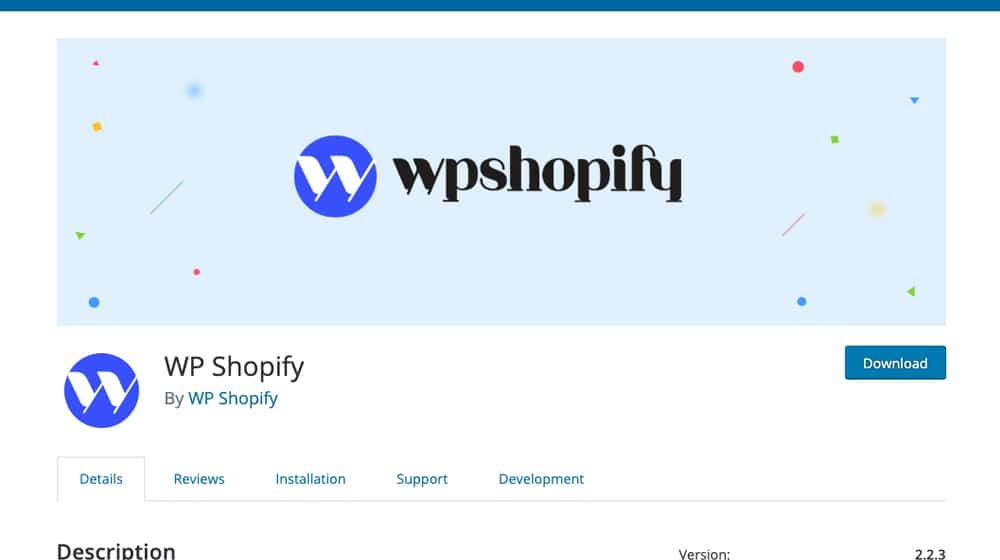 WP Shopify Plugin