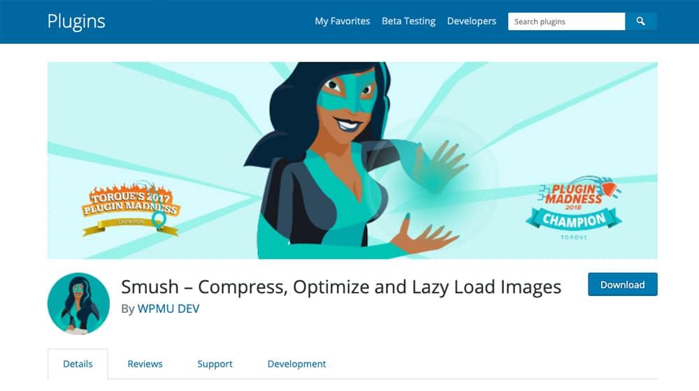 WP Smush Image Compression