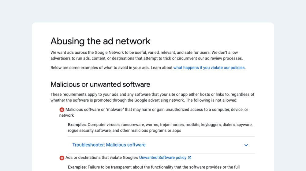 Abusing the Ad Network