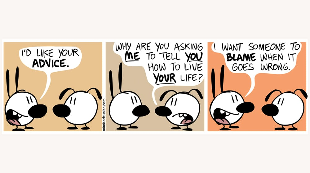 Advice Comic