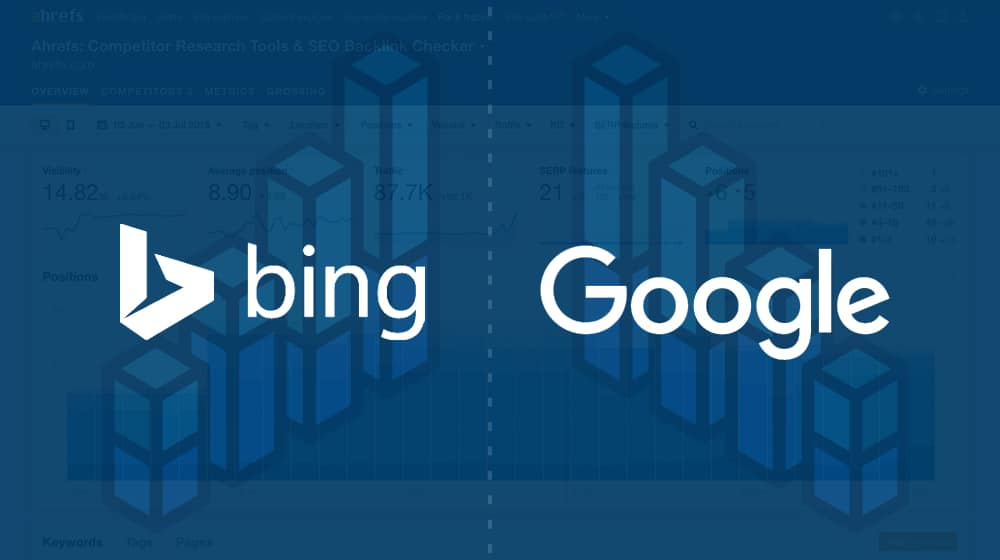 Bing and Google Ranking