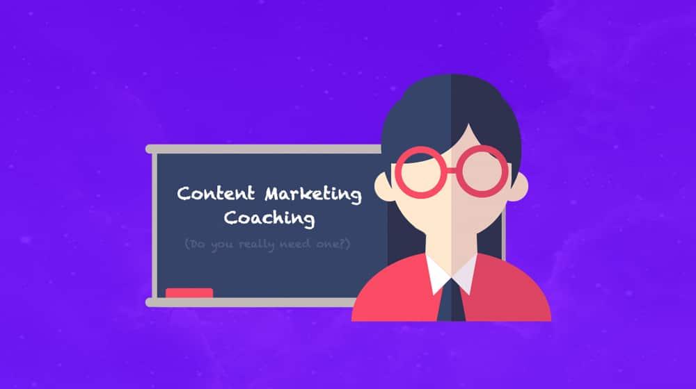 Content Marketing Coaching