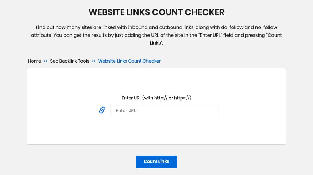 Links Counter