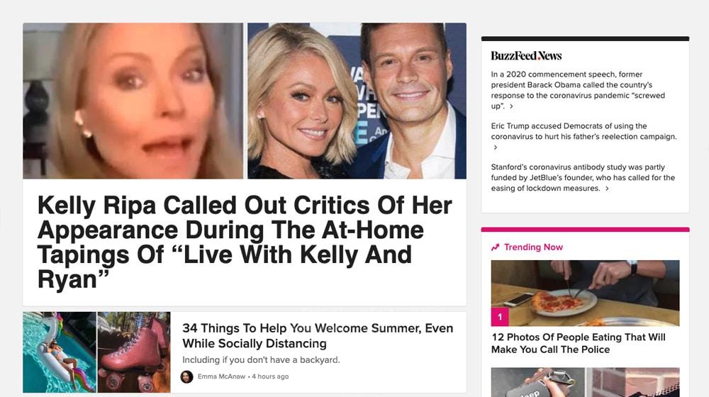 Buzzfeed Clickbait
