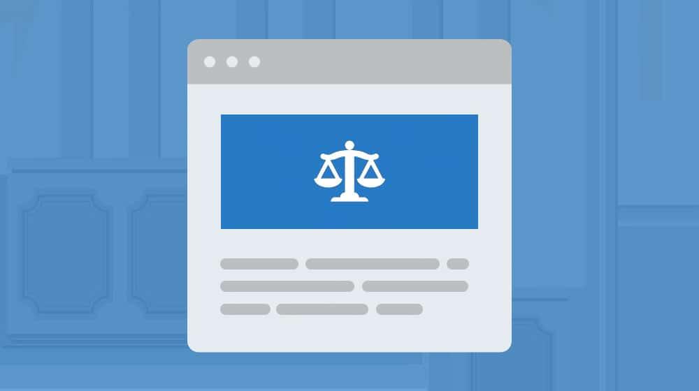 Legal Content Illustration
