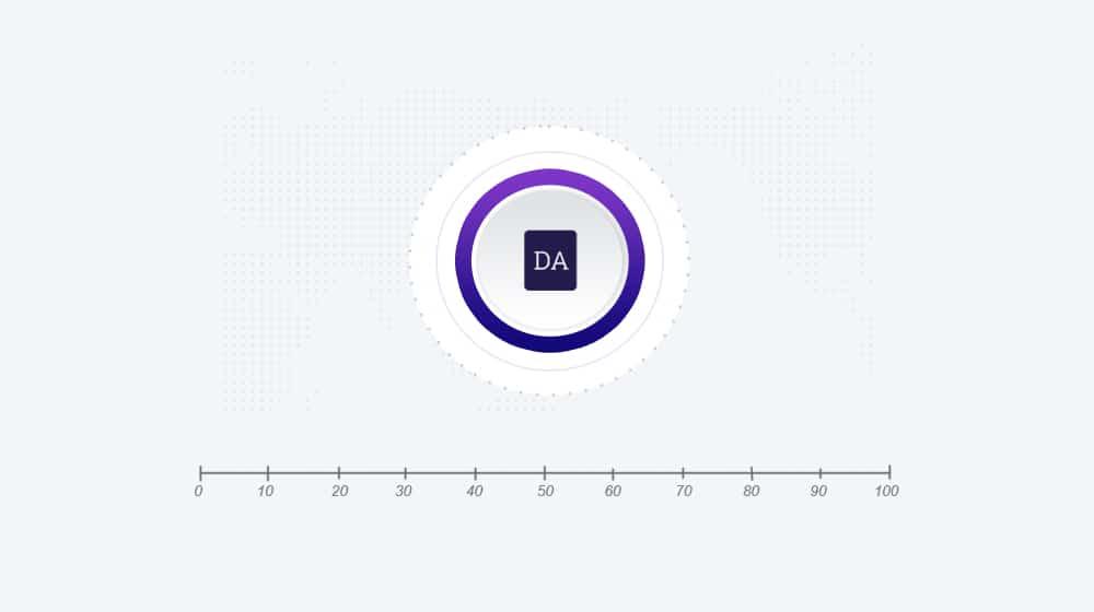 Moz DA Scale