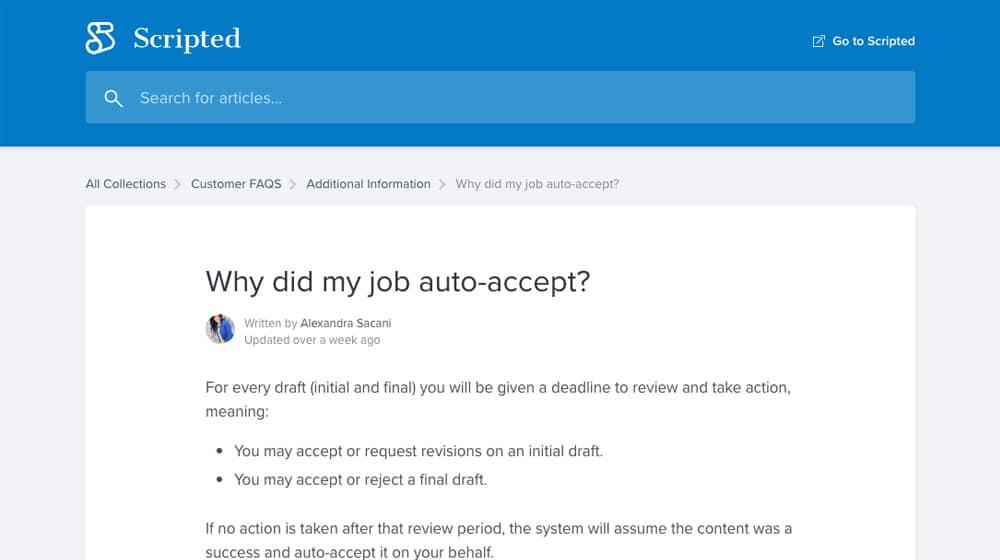 Scripted Job Autoaccept