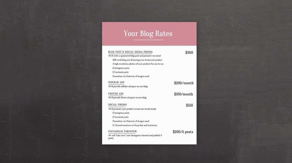 Blog Offerings