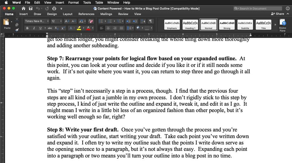 Blog Post Draft