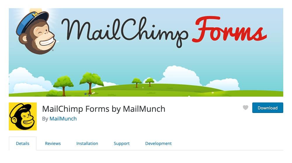 MailChimp Forms