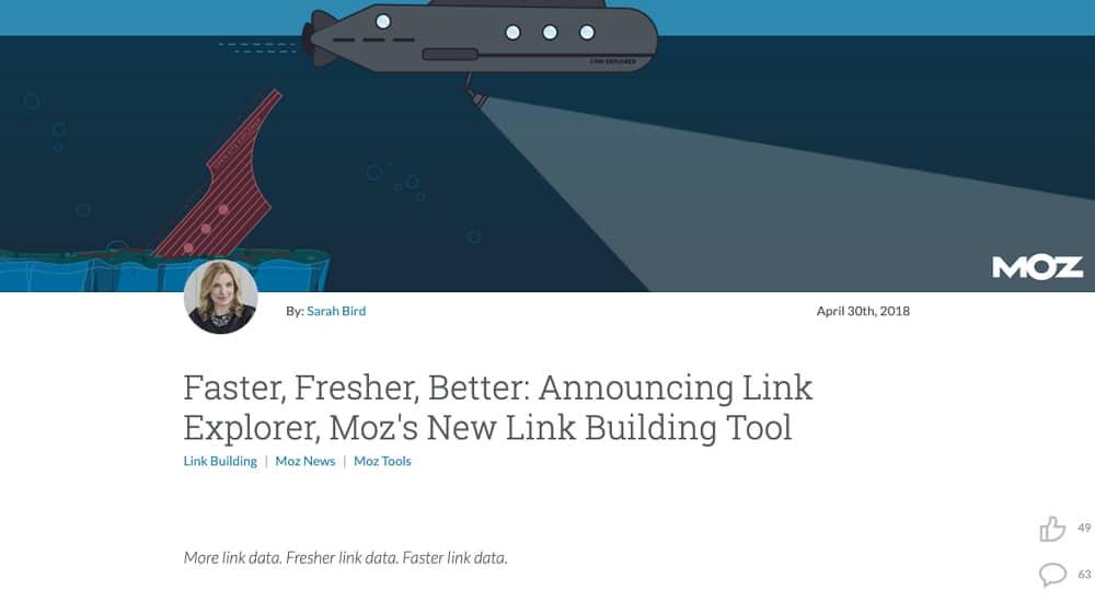 Moz Link Building