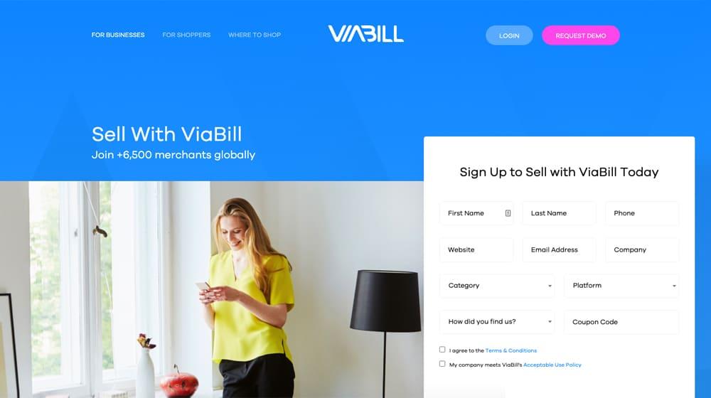 Viabill Site